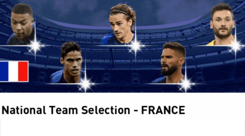 ウイイレアプリ fp フランス